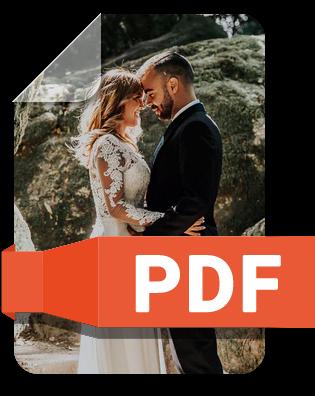 Hochzeitsfotos auswählen, mit Kunden abstimmen, präsentieren, verkaufen oder zum Download bereitstellen